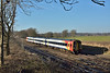159101 speeds past Trotters Lane with 1L38 11.47 service from Salisbury to London Waterloo<br /> <br /> 5 January 2017