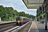 Passing Surbiton is Desiro 450570 forming 2P35 12.45 service from  Waterloo to Portsmouth & Southsea<br /> <br /> 23 June 2017