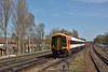 159101 passing West Byfleet with 1L31 11.50 service from  Waterloo to Salisbury<br /> <br /> 20 April 2016