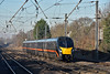 An unidentifiable Grand Central Adelante forming 1A63 10.21 service from Bradford Interchange to London Kings Cross  passes  Welham Green <br /> <br /> 29 December 2016