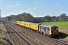 GBRf Super ED's 73963 /73964 pass Potbridge with Network Rail test train working 1Q53 on a circular trip from Eastleigh Arlington  via Wimbledon.<br /> <br /> 15 March 2017
