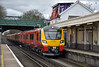 707006 hits the rails