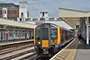 450027  halts at Surbiton with 1A35 12.53 service from Waterloo to Alton<br /> <br /> 23 June 2017