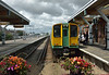 Southern Class 313 No.313220 waits at Littlehampton to depart with 2N65 the 12.57 service  to Portsmouth & Southsea<br /> <br /> 26 July 2016