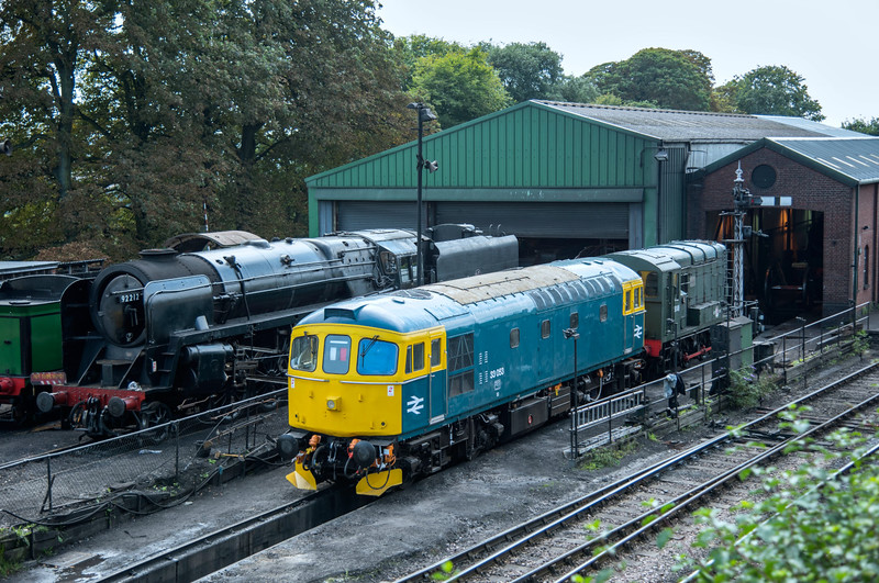 On shed at Ropley