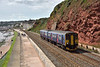 Sprinter 150249 passes Rockstone Bridge Dawlish with 2U20 12.48 service from Paignton to Cardiff Central<br /> <br /> 1 September 2016
