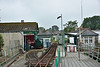 The Hythe Pier Railway town terminus.