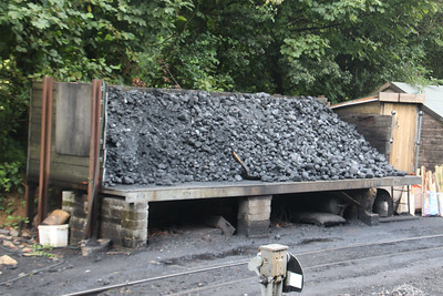 Coal Loading Area at Woody Bay on 13.08.18.