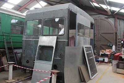 Wickham Railcar at Downpatrick on 06.08.16.