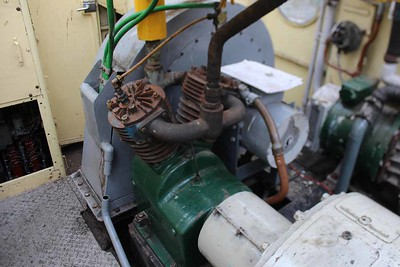 Compressor and Traction Motor Blower Fan working well on 09.07.16.