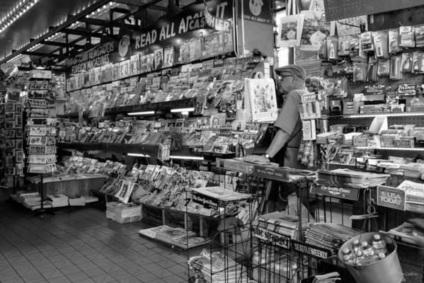 The News Paper Stand ~ Seattle, Washington - Pike Place Market