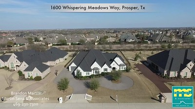 1600 Whispering Meadows Way, Prosper Texas