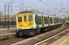 14 April 2018. 319457 passes Wolverton with the 5N19 0924 Bletchley Carriage Sidings - Northampton. The former London Midland unit carries incomplete LM livery.