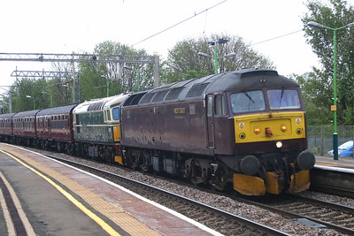 47245 + D6515 (33012) Wolverton 26 April 2019