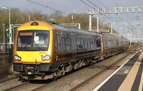172005 + 172002 Bletchley 1 February 2020