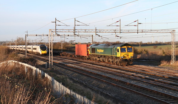 66956 + 390129 Gordon's Lodge 18 January 2020