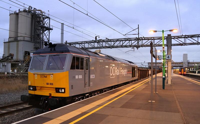 60055 Bletchley 5 January 2020