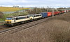 90008 + 90007 Castlethorpe 19 March 2001