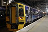 17 May 2018. 158868 stands at Edinburgh with the 2L85 2309 to Dundee.