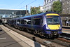 17 May 2018. Soon to be displaced by HST's from the Western, 170430 departs Haymarket on the 1H17 1741 Edinburgh - Inverness.
