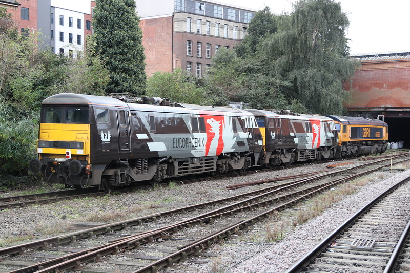 66786 + 91117 + 91120 Leicester 5 October 2019