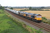 66767 + 66758 Husborne Crawley 4 September 2021