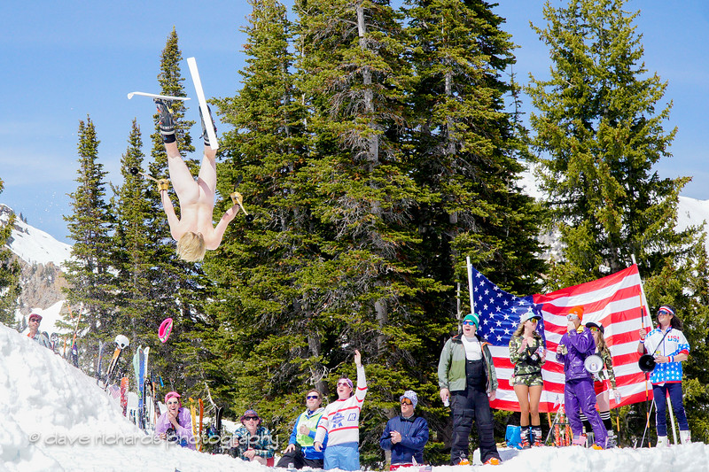 gettin' nekkid at the Frank World Classic  during the 2017 Alta closing day festivities (Photo by Dave Richards, daverphoto.com)2017 Alta closing day festivities (Photo by Dave Richards, daverphoto.com)