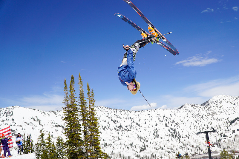 things are looking up at the Frank World Classic during the 2017 Alta closing day festivities (Photo by Dave Richards, daverphoto.com)