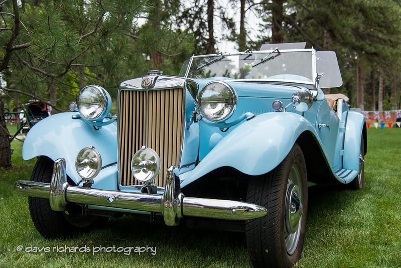 blue MG