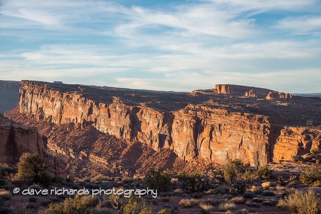 Amasa Back, Moab, UT at sunset 11-2012