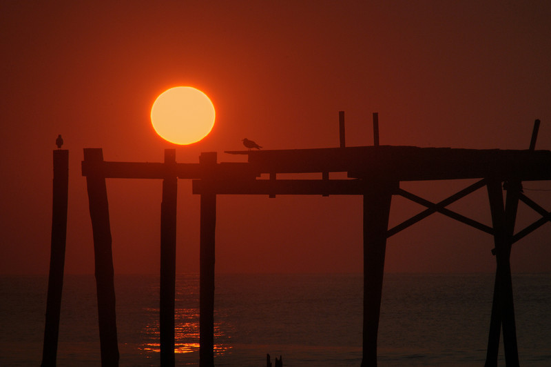Sunrise @ 6:48 AM