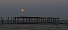 Harvest Moon Over 59th St Pier, Ocean City, NJ