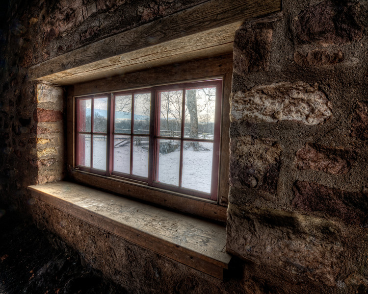 Window With an Angled View