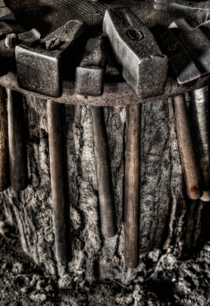 Well-used Hammers