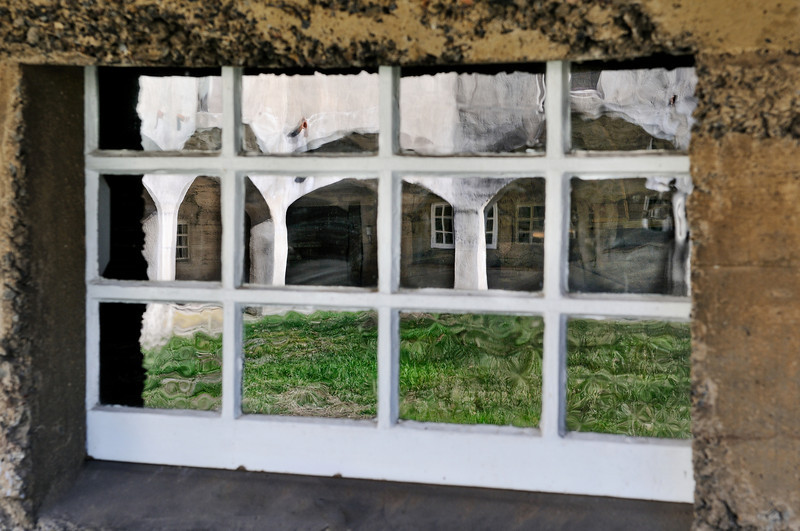 Courtyard Reflection