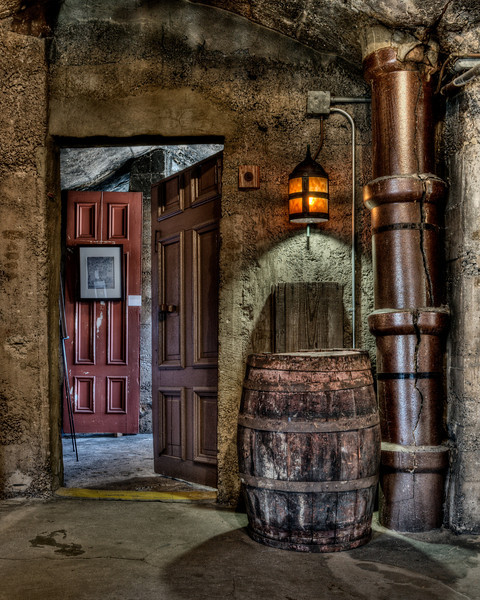 Cracked Pipe & Barrel