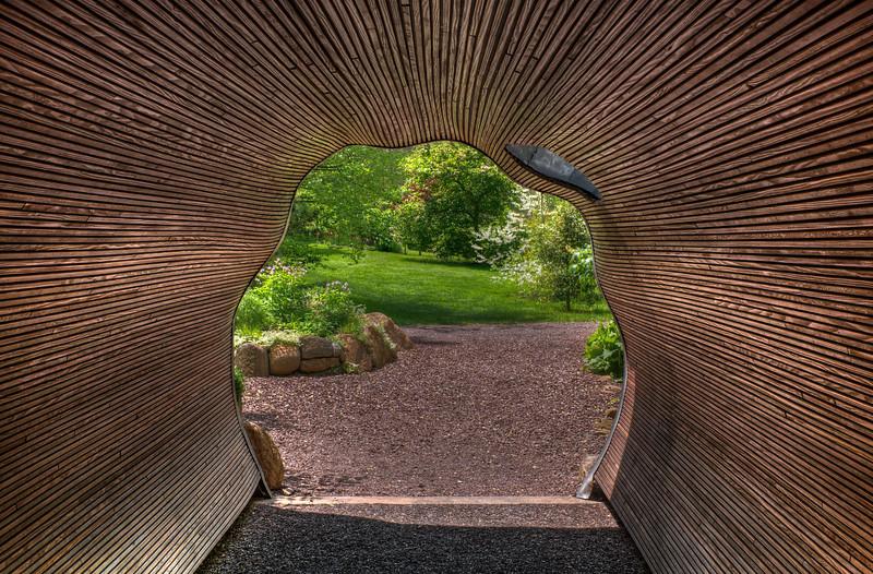 Tunnel Vision at Chanticleer