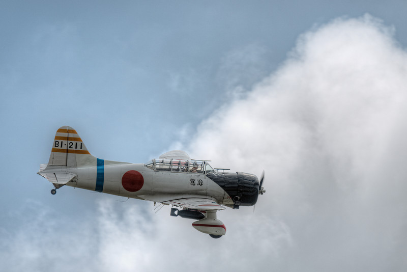 "AICHI D3 ""VAL"" AMONG THE CLOUDS"