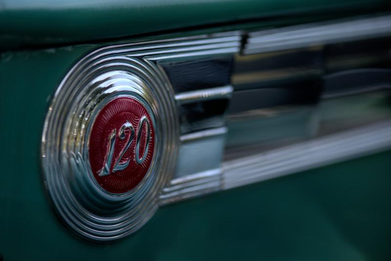 1940 Packard 120 Side Emblem