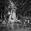 "Hanging onto Faith<br /> Susie Hayt Dibble monument and grave site (1857-1897)<br /> (notice ""Baby Boy"" next to it)"