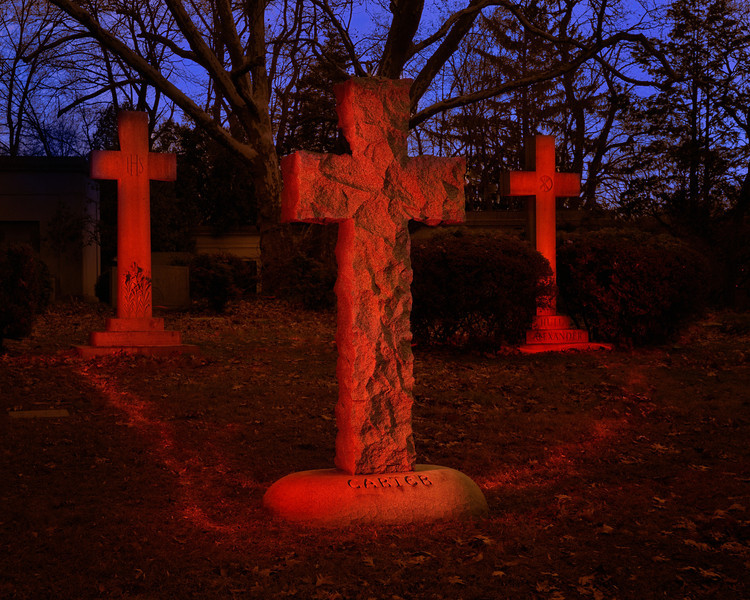 Crosses in Red