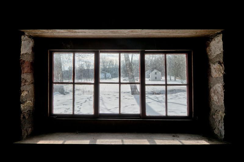 Through the Blacksmith Window