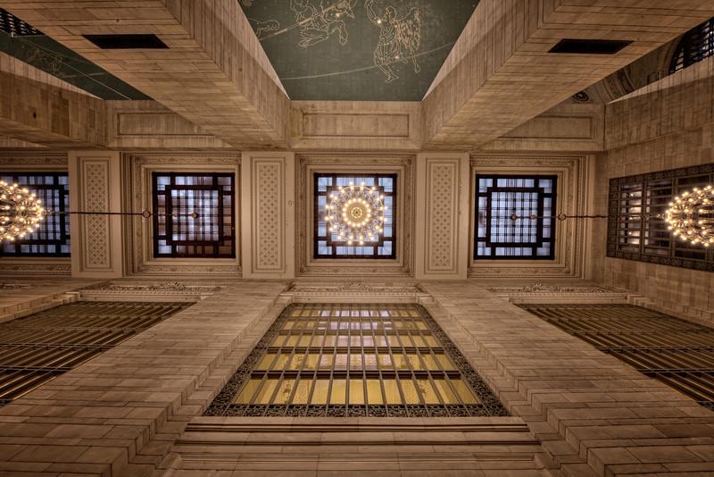 Passageway Ceiling (notice Orion)
