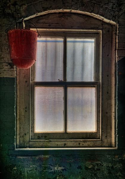 Fire Bucket and Window