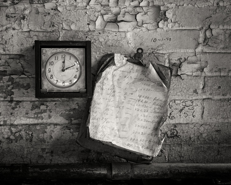 Clock and Clipboard