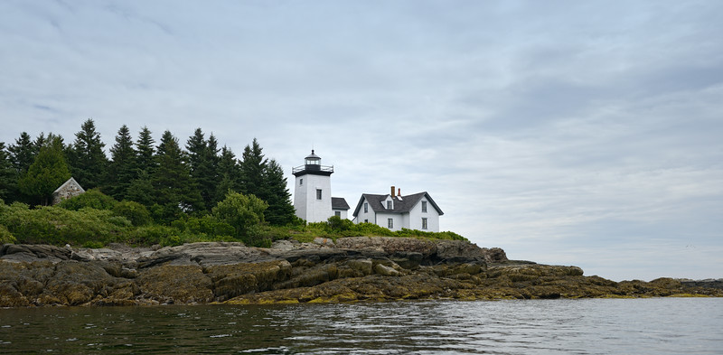 Approaching Indian Island Lighthouse, Rockport, ME