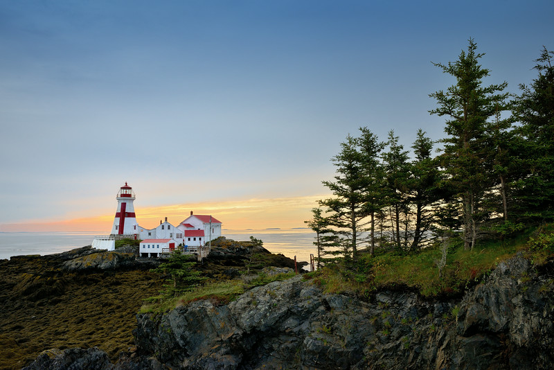 Sunrise at East Quoddy Lighthouse