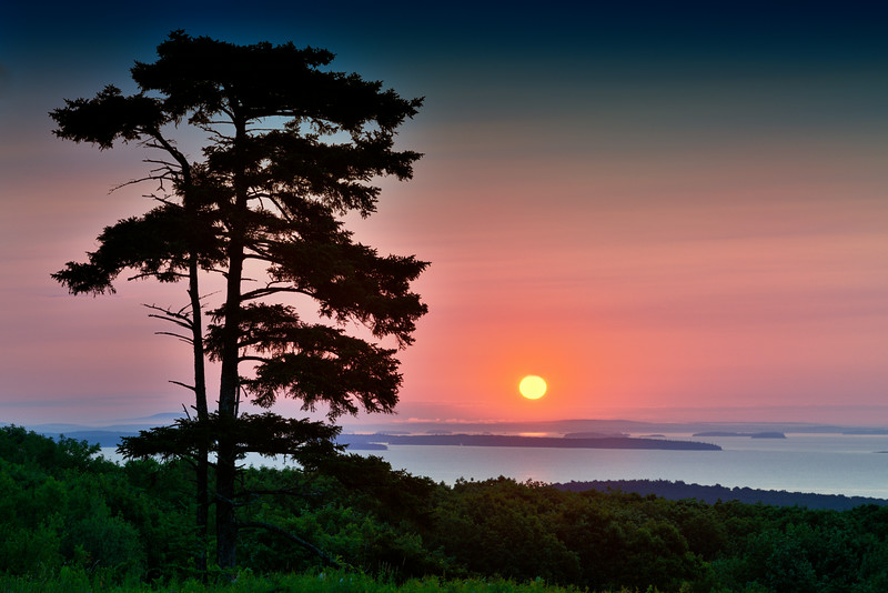 Sunrise on Beech Hill