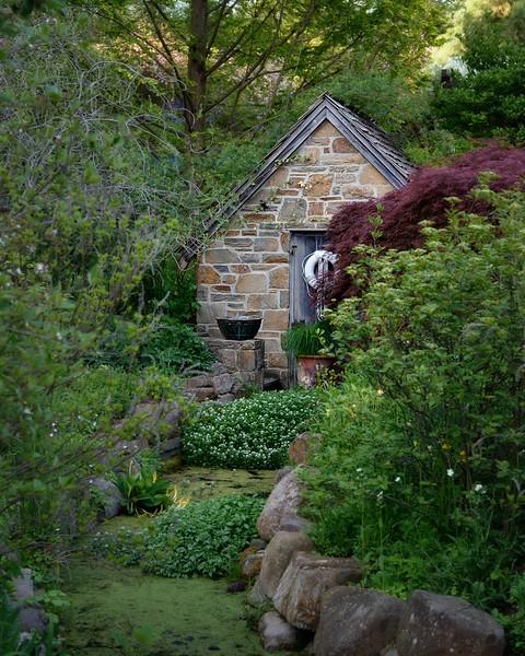 Spring House at Chanticleer