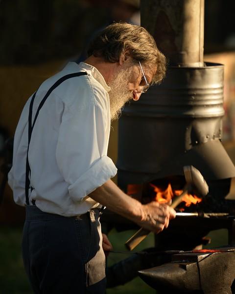 Hammering Blacksmith